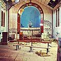 Labenne-Océan, chapelle Sainte Thérèse, intérieur, choeur, insta (40)