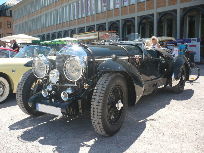 BENTLEY 3 1-2 Litre Petersen Sports Tourer 1937 Karlsruhe (1)