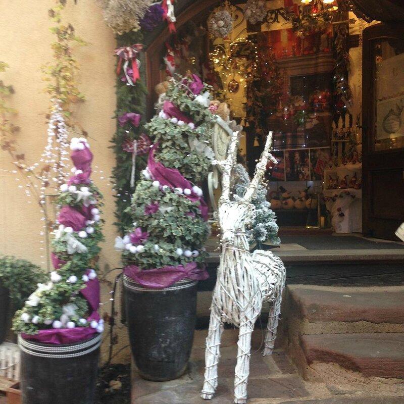 Déco Noël Alsace