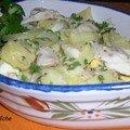 Bar de ligne en salade