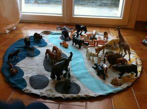 tapis de jeu /animaux