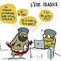 Cyber attaque et djihadisme et geek