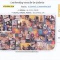 Rentrée: les ateliers jeux de l'association, le 12 septembre 2015