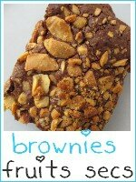 brownies aux fruits secs - index