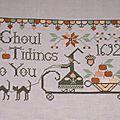 Ghoul tidings to you - Plum Street Sampler