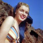 1946-08-CA-Castle_Rock_State_Park-Swimsuit_striped-by_william_carroll-010-1b