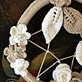* dream catcher ou attrape-rêves * + diagramme crochet ..