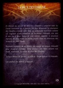 État-major des Gouffres - la_faux_devoreuse (artefact)