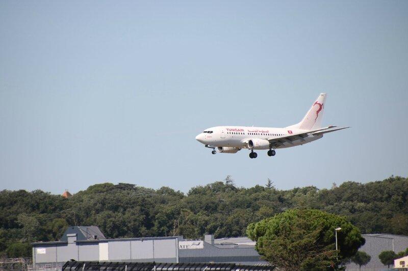 Boeing 737 de Tunisair