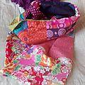Mon foulard en patchwork