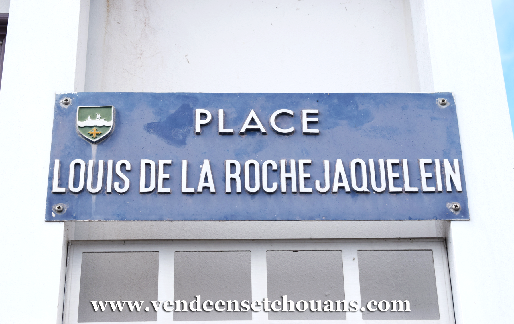 Le Perrier (85), place Louis de La Rochejaquelein