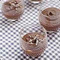 Crème au chocolat à la patate douce