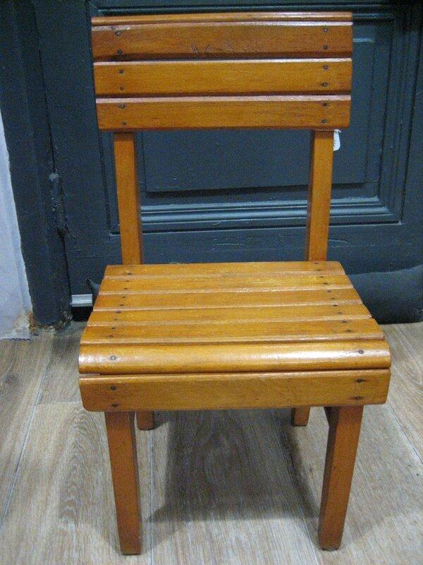 chaise bois 003