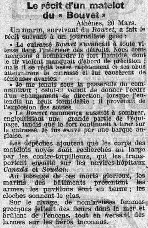 Le Petit Journal 21 03 1915 Dardanelles-1