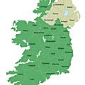 Les comtes de l'irlande