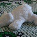 Ourson flurr blanc