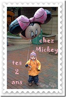 tes 2 ans chez Mickey