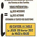 Bloc note du 07 février au 13 février 2012