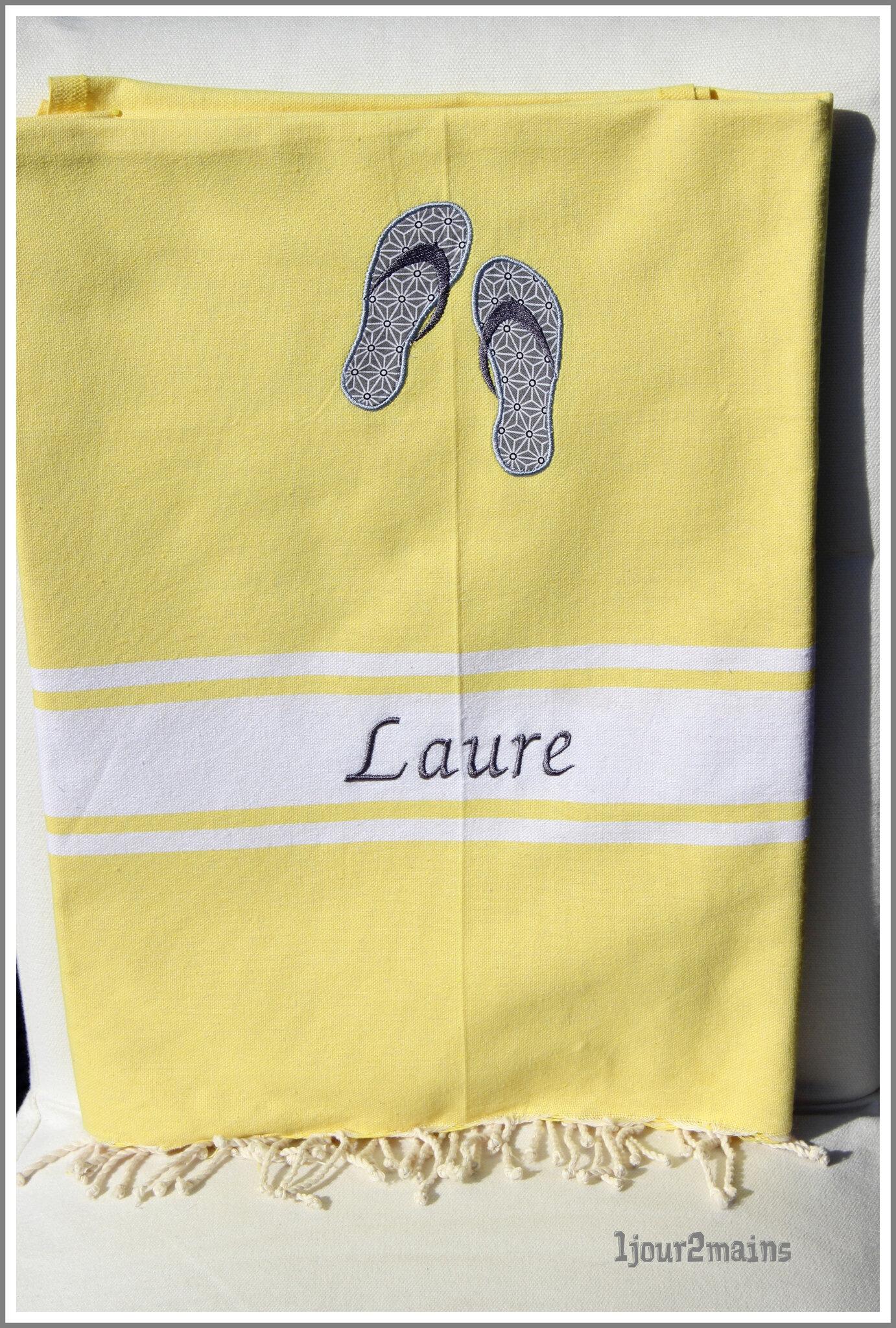 fouta tong Laure