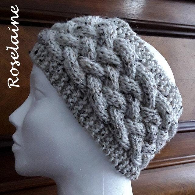 Roselaine Woven Cable Headband