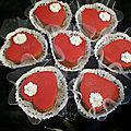 Coeur sans cuisson pour la st valentin