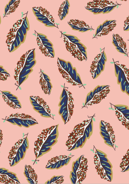03636282 Woven Leaves