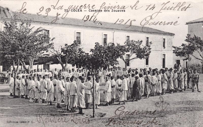 Coléa, caserne des Zouaves
