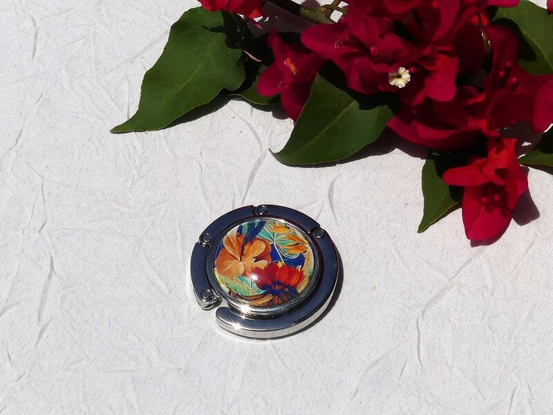 bijoux colores made in guyane par louise indigo fleurs oranges (5)