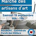 Expo d'artisans d'art samedi 19 septembre