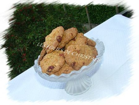 Cookies cranberries chocolat 7