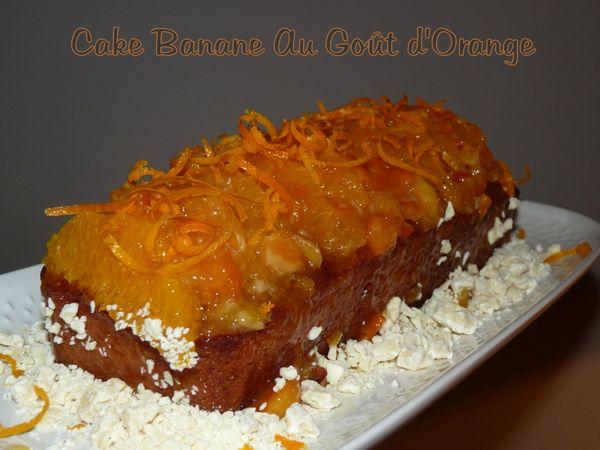 Cake banane au goût d'orange2