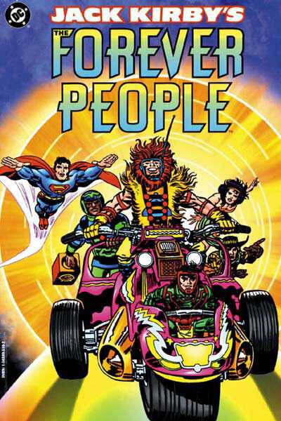 jack kirby's forever people TPB