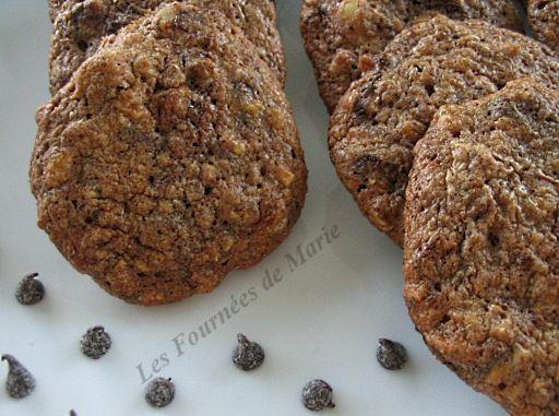 Cookies spéculos noisettes pépites