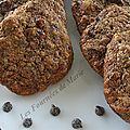 Cookies aux spéculos, noisettes et pépites de chocolat