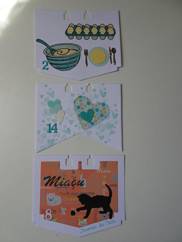19c Fiches Chandeleur, St Valentin et Journée mondiale des chats