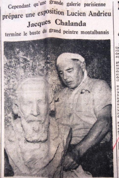 chalanda Andrieu Sud-Ouest 1957 septembre