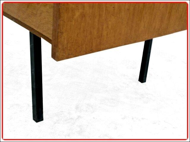 bureau vintage pieds métal 1960 (26)