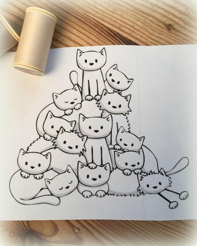 pyramide de chats
