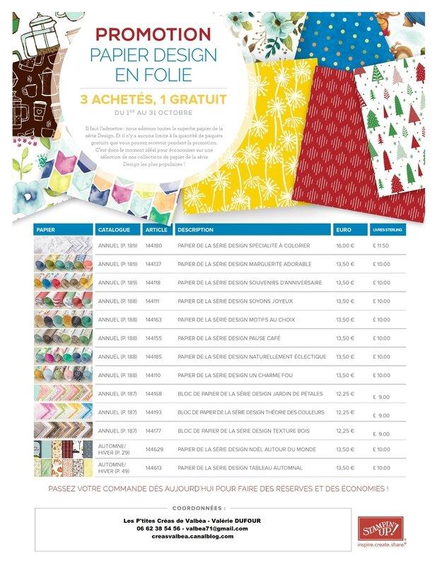 Promo Papier Design