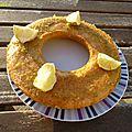 Cake moelleux au citron vert et au rhum
