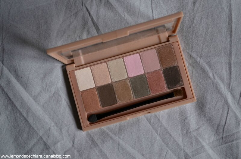 Gemey Maybelline, The blushed nudes