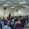 Réunion avec les habitants de Carcès, le 31 mars 2007