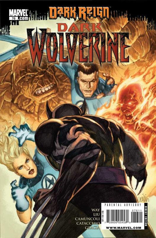 wolverine V2 dark wolverine 76