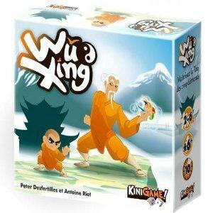 Boutique jeux de société - Pontivy - morbihan - ludis factory -Wu xing