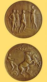 Médaille Theunis JO 1920 A R