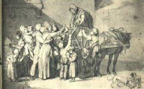 Le 23 août 1790 à Mamers : police des marchés.
