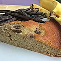Gâteau léger et moelleux à la banane et à la vanille de tahiti !