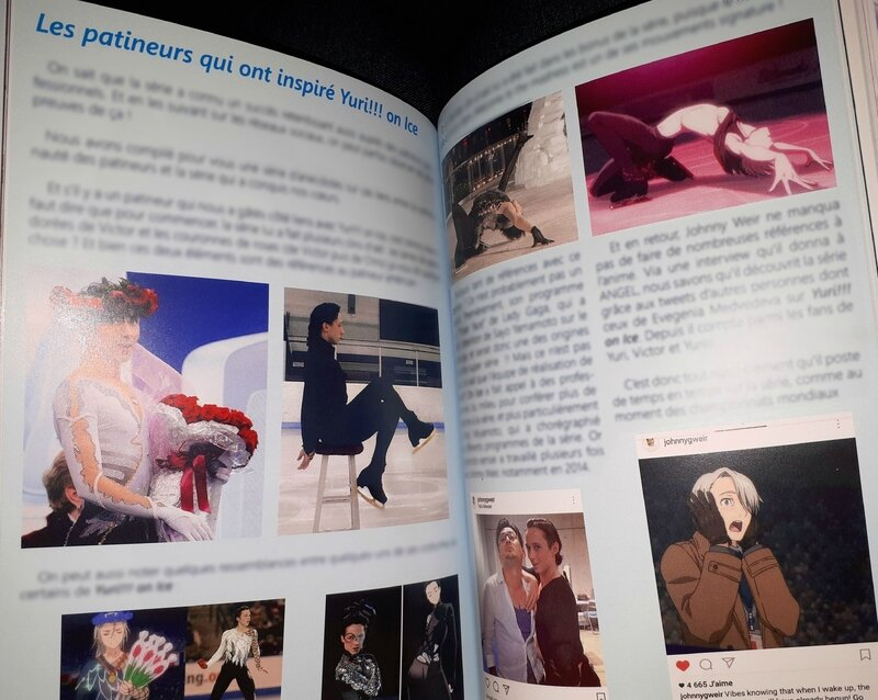 Yuri on Ice jeu Madness on Ice Japan Expo 2017 Bull'acide fanzine articles