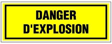 Panneau danger explosion 03