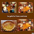 La galette franc-comtoise